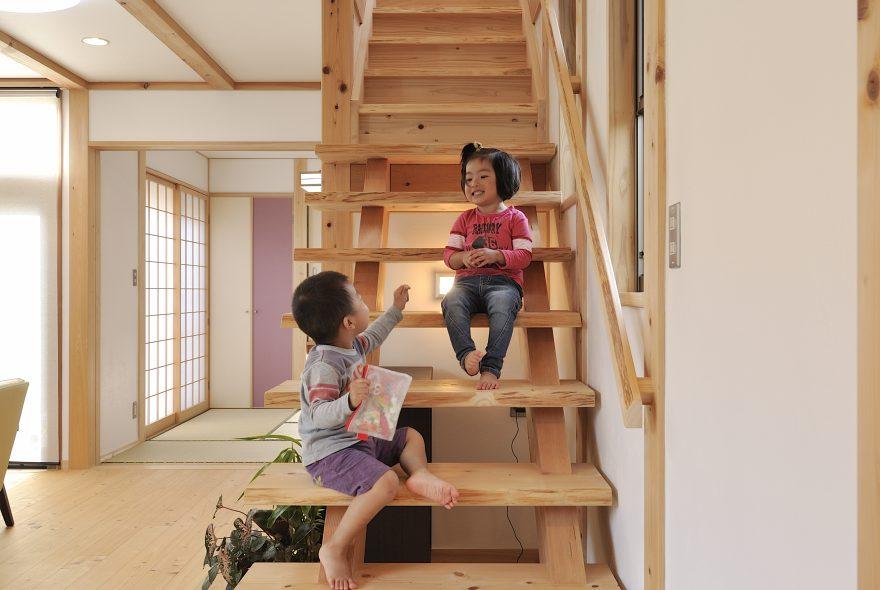 暮らしをつくる階段